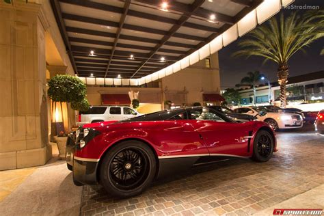 custom pagani transformers 4 pagani huayra spotted in beverly hills