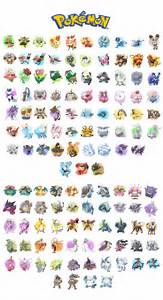 pokemon all generations images