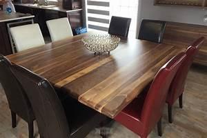 Table De Cuisine En Bois : l 39 usine qu bec meubles cuisines et bois r cup r ~ Teatrodelosmanantiales.com Idées de Décoration