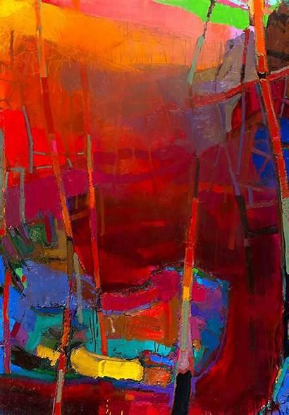 Abstract River Brian Rutenberg Paintings Painting Melberg