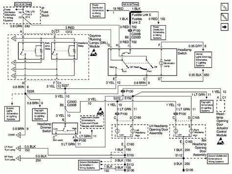 2000 Chevy Camaro Headlight Wiring Diagram by Chevy Silverado Fog Light Switch Diagram Wiring Forums