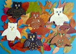 Bastelideen Herbst Kinder : bastelideen basteln herbst wald eulen tonpapier herbst pinterest collage and crafts ~ Yasmunasinghe.com Haus und Dekorationen