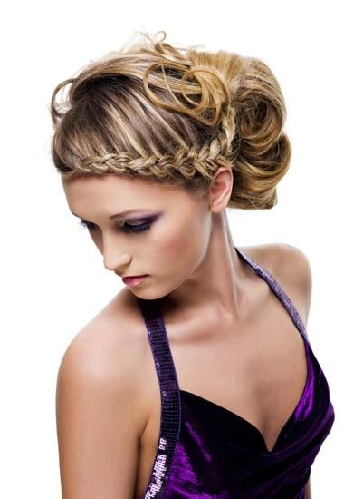 different hair updo styles beautiful braided updo hairstyle for wedding