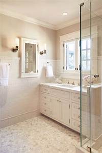 25 white porcelain bathroom tile ideas and pictures for The tile and bathroom place