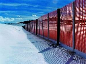 Snow Fence Is Used In Dense Snow Accumulation Areas To