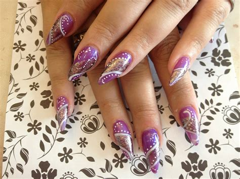 40+ Examples Of Stiletto Nails Art