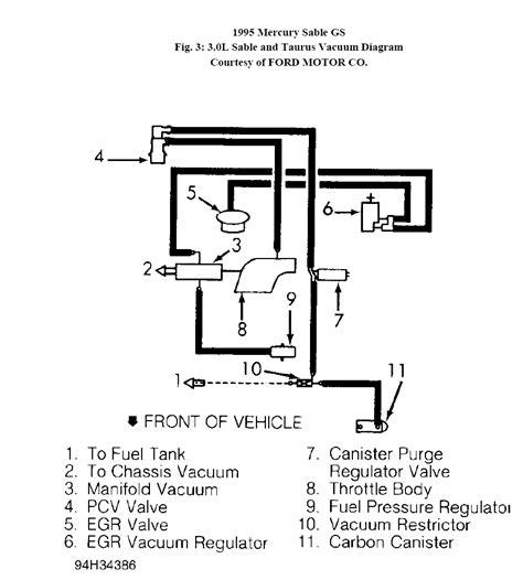 Need Detailed Vacuum Hose Diagram For Mercury