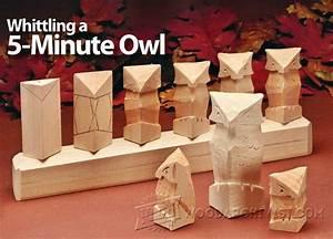 Carving Owl - Wood Carving Techniques • WoodArchivist