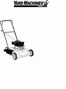 Yard Machines Lawn Mower 20 User Guide