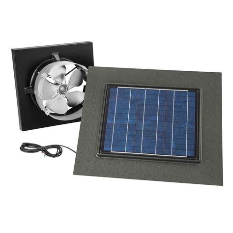 solar powered home fans attic fans vents ventilation venting the
