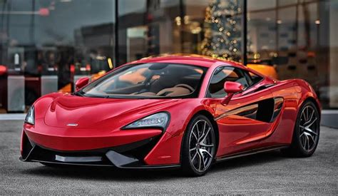 Gallery Vermillion Red Mclaren 570s
