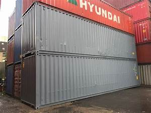 40 Fuß Container : 40 fu container gebraucht neu lackiert ~ Frokenaadalensverden.com Haus und Dekorationen