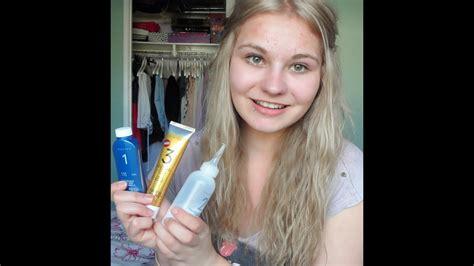 dye  hair blonde  darkash blonde youtube