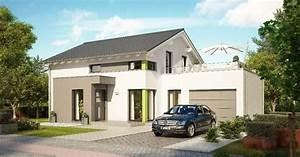 Fertighaus Mit Dachterrasse : einfamilienhaus modern mit garage haus evolution 143 v6 ~ Lizthompson.info Haus und Dekorationen