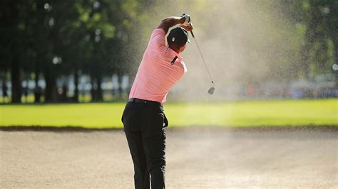 Plaque installed near site of Tiger Woods' bunker shot at ...
