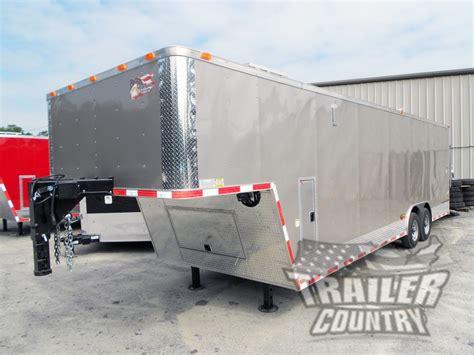 trailer country gooseneck trailers goosenecks  sale