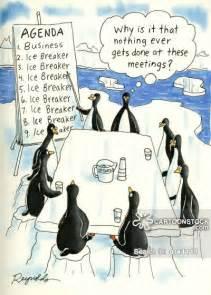 Funny Meeting Ice Breaker Clip Art
