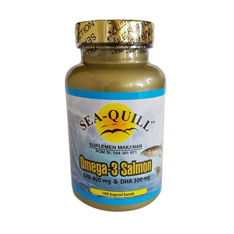 suplemen omega 3 jual sea quill omega 3 salmon multivitamin suplemen