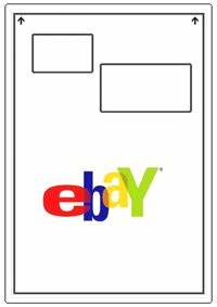 Ebay integrated invoice address labels and packing slip for Ebay shipping label template