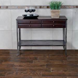 home depot wood look tile saddle marazzi montagna saddle 6 in x 24 in glazed porcelain