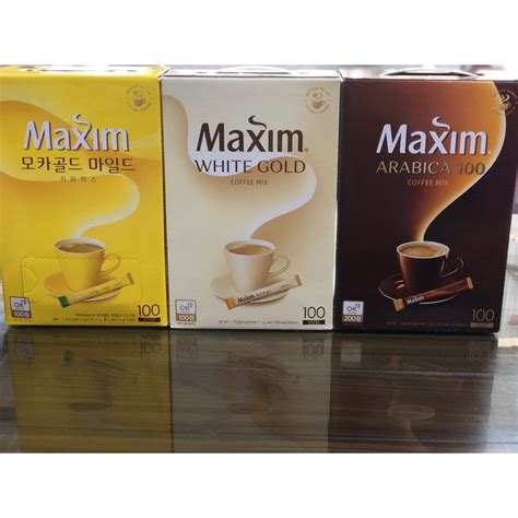 Posted by nellie muller on 21st oct 2019. Maxim Instant Coffee Mix, sold per stick   Shopee Philippines