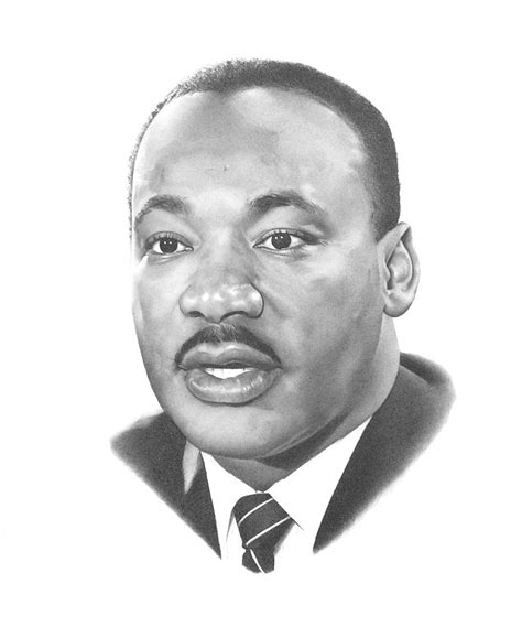 Mlk Clip Martin Luther King Junior Clipart Clipart Suggest