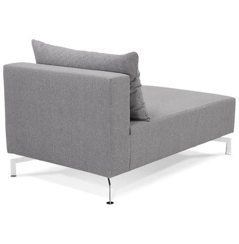 canape voltaire méridienne voltaire longchair gris canapé modulable