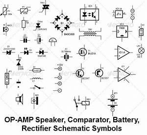 circuit schematic symbols for diodes conduct electricity With electrical symbols electrical diagram symbols