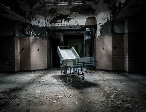 A Dark and Deserted Asylum Sits Quietly Falling to Pieces ...