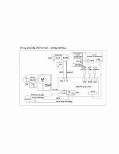 Frigidaire Cad251ntd1 Dehumidifier Parts