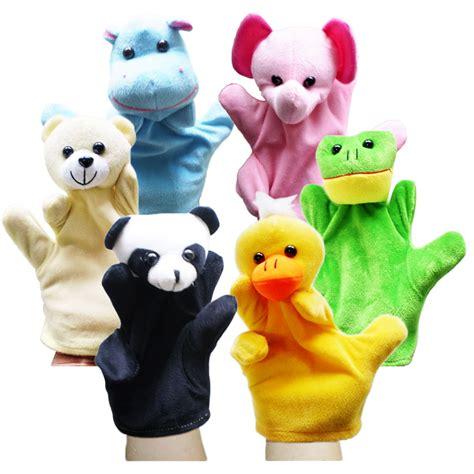 Boneka Tangan Handpuppet Macan animal puppet 8 motif puppet boneka tangan