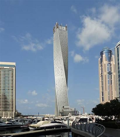 Tower Cayan Dubai Som Arab Emirates United