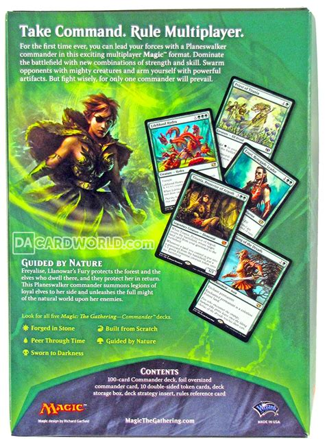Mtg Commander Decks 2014 by Magic The Gathering Commander Deck 2014 Guided By