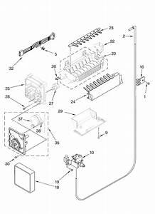 Kenmore 106 57022601 Icemaker Motor  Module Kit