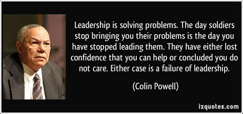 leadership  solving problems colin powell