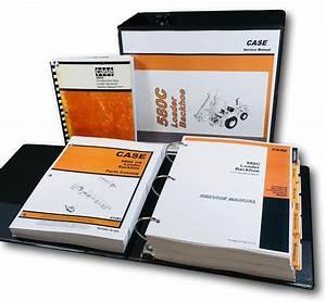Case 580c Loader Backhoe Operators Service Parts Manual