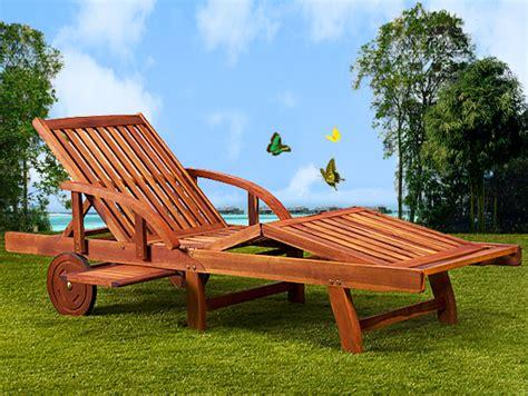 bain de soleil en bois bain de soleil haut de gamme pliable en acacia marron