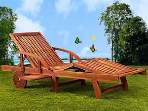 Bain De Soleil Bois : bain de soleil haut de gamme pliable en acacia marron ~ Teatrodelosmanantiales.com Idées de Décoration