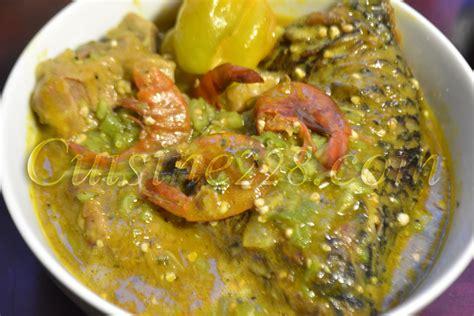sauce de gombo okra soup cuisine togolaise
