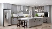 home depot kitchens Tremont Wall Cabinets in Pearl Gray – Kitchen – The Home Depot