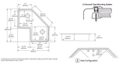 corner kitchen sink dimensions corner kitchen sinks 5850