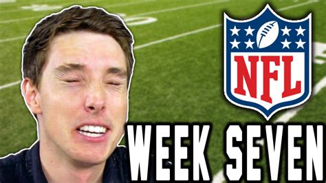 Fans Hate Me!  Lazarbeam Predicts Nfl Week Seven! Youtube