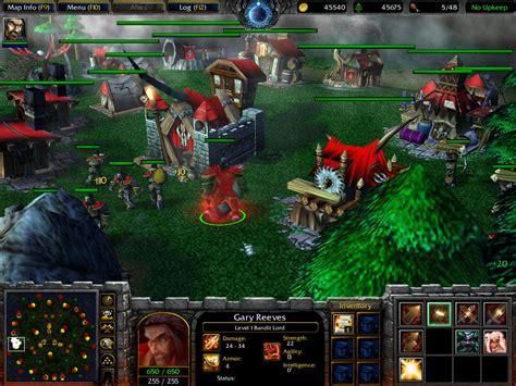 village recreate warcraft iii  frozen throne maps