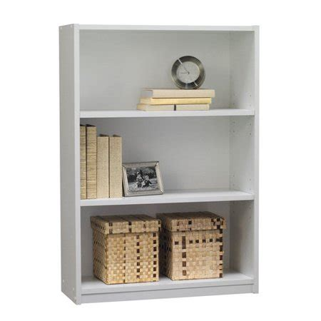 walmart bookshelf white mainstays 3 shelf bookcase white walmart