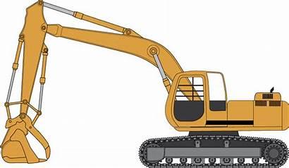 Excavator Excavators Clipart Clip Cat Bing Transparent