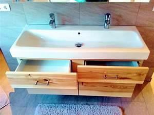 Griffe Für Badmöbel : badm bel esche mit waschtischunterschrank und spiegelschrank ~ Markanthonyermac.com Haus und Dekorationen
