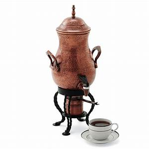 Copper-Finished Artisan Coffee Urn - The Green Head