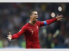 Ronaldo Hattrick, Portugal Vs Spanyol Berakhir Imbang 33