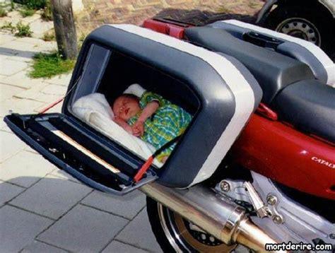 siege bb moto avec siège bébé image mort de rire
