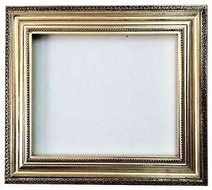Fancydecor - Decorative Wall Mirror Frame in bright gold